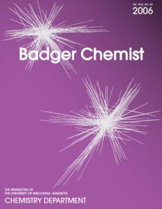 2006 Badger Chemist