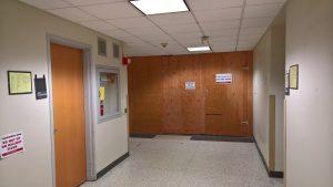 end of hallway