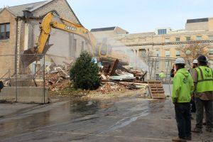 Demolishing old property